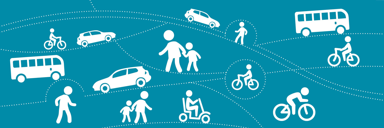 Walking and Cycling Image